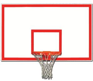 "Gared 42"" x 72"" Fiberglass Rectangular Backboards"