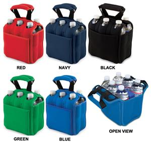 Picnic Time Insulated Six Pack Beverage Holder
