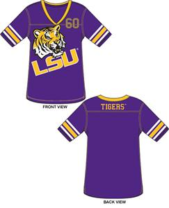 Emerson Street LSU Tigers Jersey Color Tunic