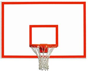 "Gared 48"" x 72"" Wood Rectangular Backboards"