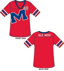 Ole Mississippi Jersey Color Tunic