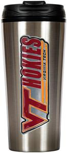 NCAA Virginia Tech Hokies 16oz Travel Tumbler