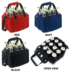 Picnic Time Insulated Twelve Pack Beverage Holder