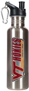 NCAA Virginia Tech Hokies Stainless Water Bottle