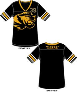 Emerson Street Missouri Tigers Jersey Color Tunic