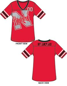 Nebraska Cornhuskers Jersey Color Tunic