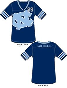 North Carolina Tar Heels Jersey Color Tunic