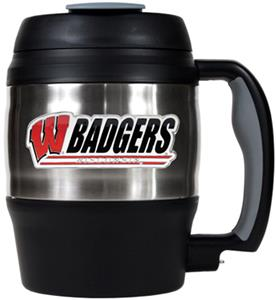 NCAA Wisconsin Badgers 52oz Macho Travel Mug