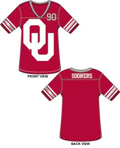 Oklahoma Sooners Jersey Color Tunic