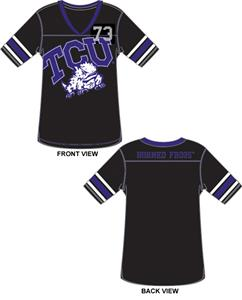 Emerson Street TCU Horned Frogs Jersey Color Tunic