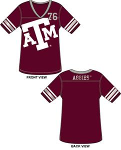 Emerson Street Texas A&M Aggies Jersey Color Tunic