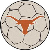 Fan Mats University of Texas Soccer Ball Mat