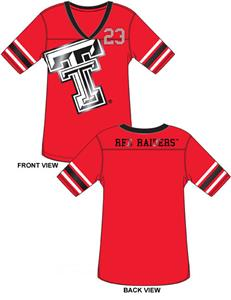Emerson Street Texas Tech Jersey Color Tunic