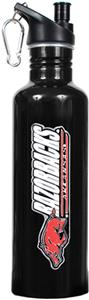 NCAA Arkansas Razorbacks Black Water Bottle