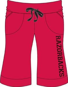 Arkansas Razorbacks Womens Bermuda Shorts