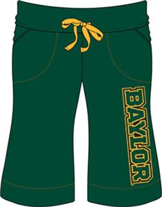 Emerson Street Baylor Bears Womens Bermuda Shorts