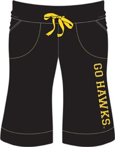 Emerson Street Iowa Hawkeyes Womens Bermuda Shorts