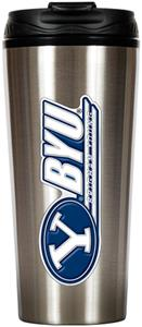 NCAA Brigham Young Cougars 16oz Travel Tumbler