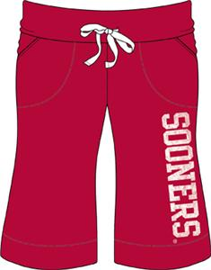 Oklahoma Sooners Womens Bermuda Shorts