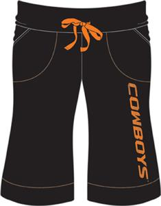 Oklahoma State Cowboys Womens Bermuda Shorts