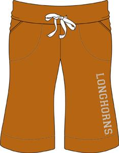 Texas Longhorns Womens Bermuda Shorts