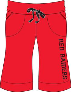 Emerson Street Texas Tech Womens Bermuda Shorts