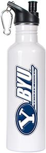 NCAA Brigham Young Cougars White Water Bottle