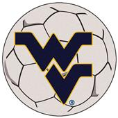 Fan Mats West Virginia University Soccer Ball Mat