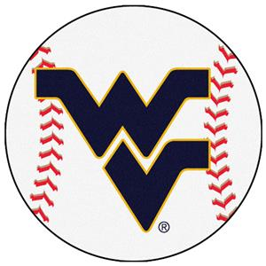 Fan Mats West Virginia University Baseball Mat