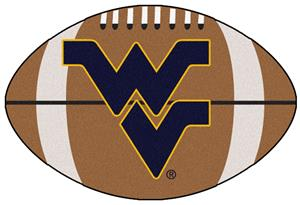 Fan Mats West Virginia University Football Mat