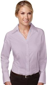 TRI MOUNTAIN Women's Brea Herringbone Dress Shirt