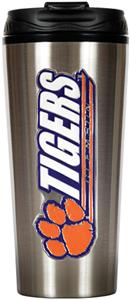 NCAA Clemson Tigers 16oz Travel Tumbler