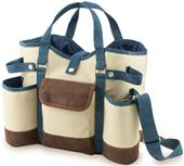 Picnic Time Two-Bottle Wine Country Tote