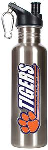 NCAA Clemson Tigers Stainless Water Bottle