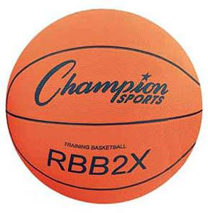 Champion Oversized Rubber Training Basketballs