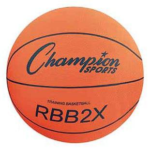 Champion Oversized Rubber Training Basketballs