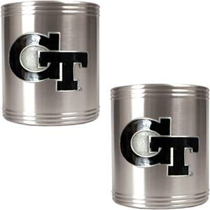 NCAA Georgia Tech Stainless Steel Can Holders