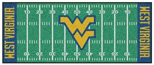Fan Mats West Virginia University Football Runner