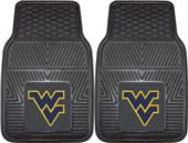Fan Mats West Virginia Univ Vinyl Car Mats (set)