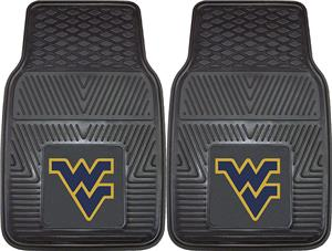 Fan Mats West Virginia University Vinyl Car Mats