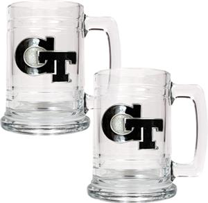 NCAA Georgia Tech 15oz Glass Tankard