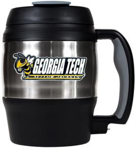 NCAA Georgia Tech 52oz Macho Travel Mug