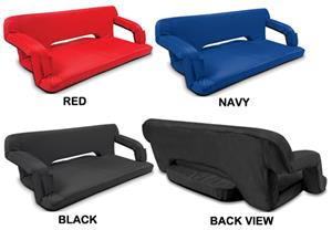 Picnic Time Reflex Portable Reclining Travel Couch