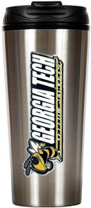 NCAA Georgia Tech 16oz Travel Tumbler