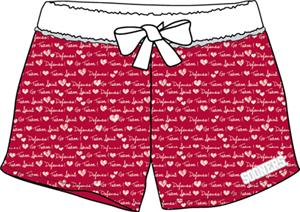 Oklahoma Sooners Womens French Terry Print Shorts