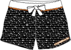 Oklahoma State Womens French Terry Print Shorts