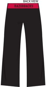 Emerson Street Arkansas Womens Crop Yoga Pants
