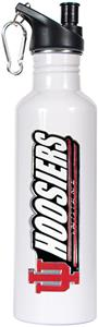 NCAA Indiana Hoosiers White Water Bottle