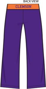 Emerson Street Clemson Womens Crop Yoga Pants