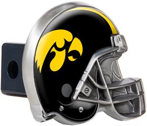 NCAA Iowa Hawkeyes Helmet Trailer Hitch Cover
